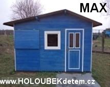 MAX dřevěný domeček