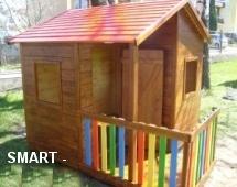 SMART dřevěný domeček
