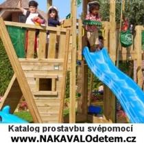 KATALOG pro stavbu svépomocí na www.NAKAVALOdetem.cz