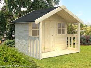 FELIX 1,9 m2 dřevěný domek pro děti jako stavebnice pro stavbu svépomocí