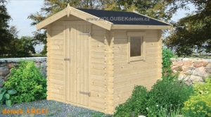 ARGO dřevěný domek jako stavebnice pro stavbu svépomocí