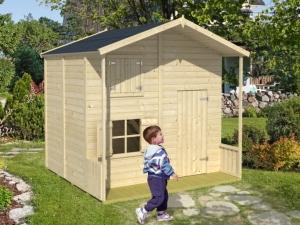 ASSEPOESTER dřevěný domek pro děti jako stavebnice pro stavbu svépomocí