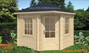 DANIEL dřevěný domek jako stavebnice pro stavbu svépomocí
