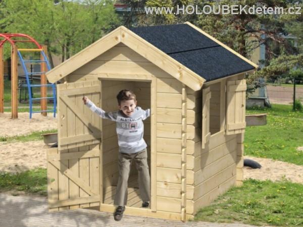 GANDALF dřevěný domek pro děti jako stavebnice pro stavbu svépomocí