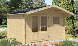 INGMAR dřevěný domek jako stavebnice pro stavbu svépomocí