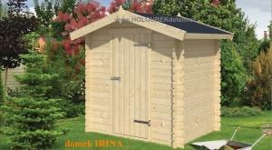 IRINA dřevěný domek jako stavebnice pro stavbu svépomocí