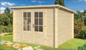 JORGEN dřevěný domek jako stavebnice pro stavbu svépomocí