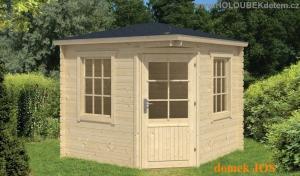 JOS dřevěný domek jako stavebnice pro stavbu svépomocí