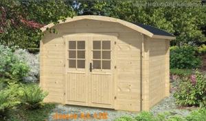 KLAIR dřevěný domek jako stavebnice pro stavbu svépomocí