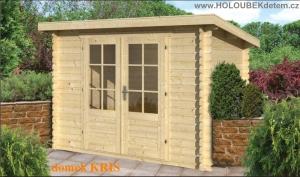 KRIS dřevěný domek jako stavebnice pro stavbu svépomocí