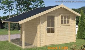 LARS dřevěný domek jako stavebnice pro stavbu svépomocí