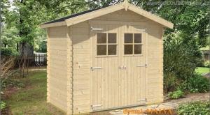 MALVA dřevěný domek jako stavebnice pro stavbu svépomocí