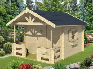 MARII dřevěný domek pro děti jako stavebnice pro stavbu svépomocí