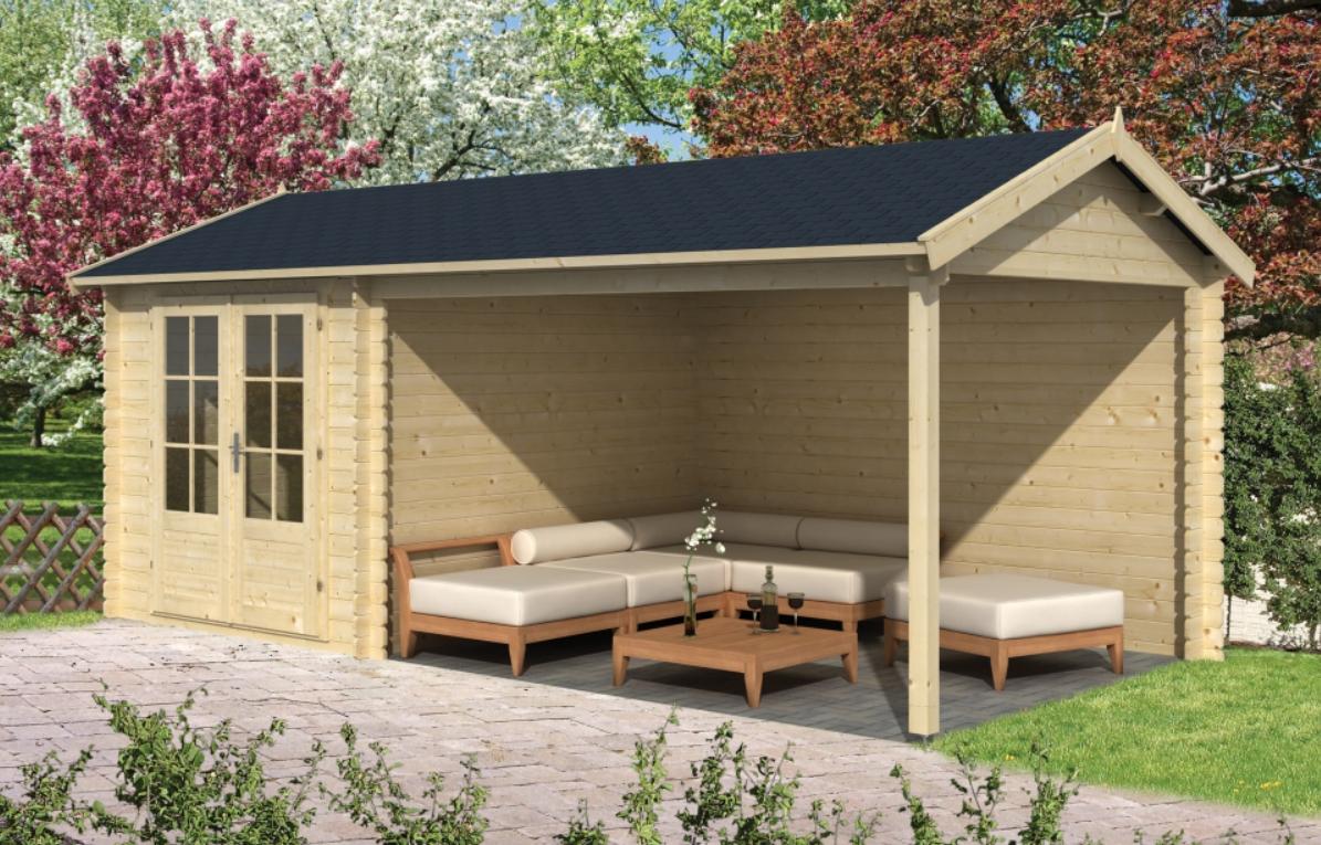 OVE dřevěný domek jako stavebnice pro stavbu svépomocí