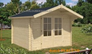 PERLUND dřevěný domek jako stavebnice pro stavbu svépomocí