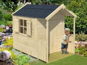 PINOKKIO dřevěný domek pro děti jako stavebnice pro stavbu svépomocí