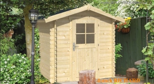 RICHARD dřevěný domek jako stavebnice pro stavbu svépomocí
