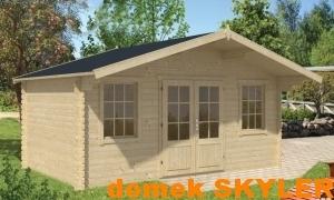 SKYLER dřevěný domek jako stavebnice pro stavbu svépomocí