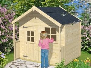 SNOW WHITE SNĚHURKA dřevěný domek pro děti jako stavebnice pro stavbu svépomocí