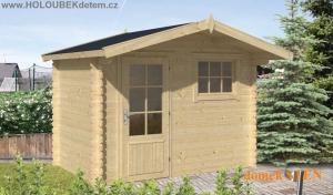STEN dřevěný domek jako stavebnice pro stavbu svépomocí