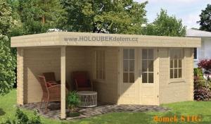 STIG dřevěný domek jako stavebnice pro stavbu svépomocí