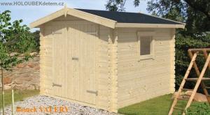 VALERY dřevěný domek jako stavebnice pro stavbu svépomocí