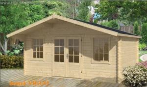 VIGGO dřevěný domek jako stavebnice pro stavbu svépomocí
